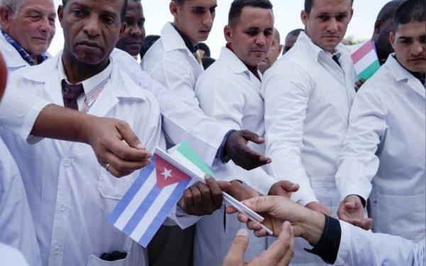 A kubai  szakemberek. Fotó: standardmedia.co.ke