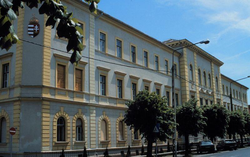 A Georgikon Kar egyik épülete Keszthelyen