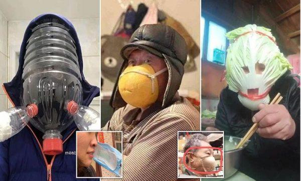 Kreatív maszkok. Fotó: inzternet
