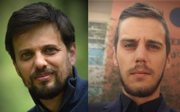 Dr. Abonyi János és dr. Sebestyén Viktor. Fotó: Pannon Egyetem