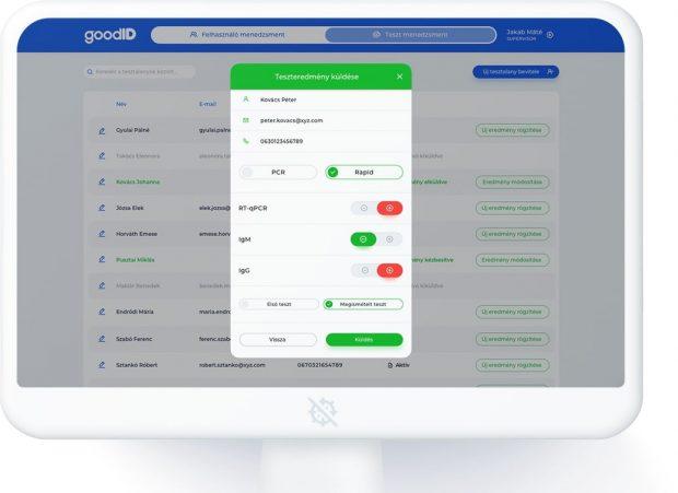GoodID COVID-19 Green System
