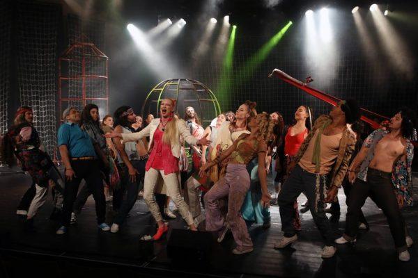 A nézők a Hairt szerették legjobban. Fotó: Pannon Várszínház