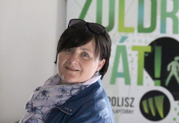 Lengyel Szilvia, az Ökopolisz Alapítvány kuratóriumának társelnöke