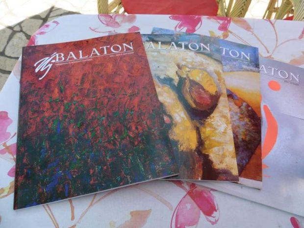 Az Új Balaton című folyóirat néhány száma