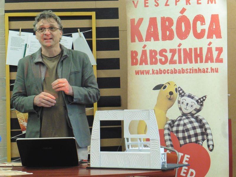 Szőke Kavinszki András igazgató. Fotó: a szerző