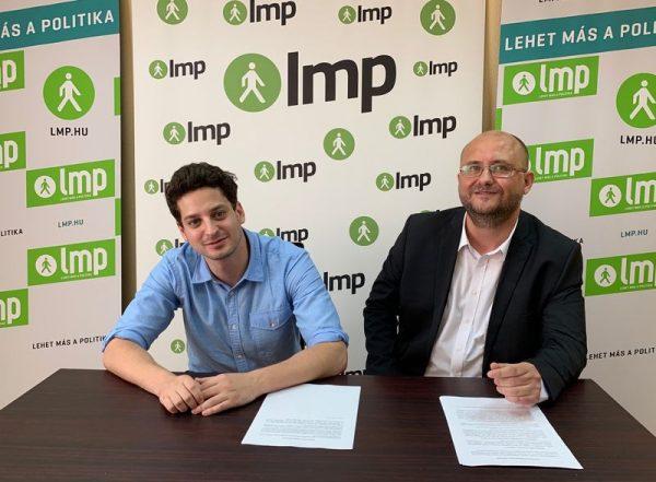 Ungár Péter és Gerstmár Ferenc. Fotó: LMP
