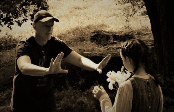 Buvári Tamás rendező a forgatáson. Fotó: SzeretFilm Stúdió