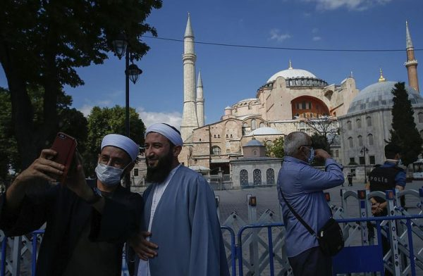 A Hagia Szofia. Fotó: euronews.com