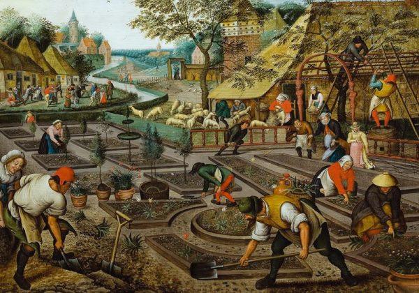 Pieter Brueghel II.: Négy évszak, tavasz