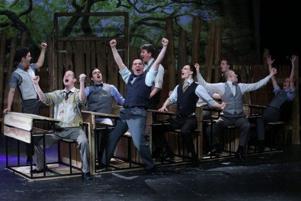Jelenet A Pál utcai fiúkból. Fotó: Pannon Várszínház