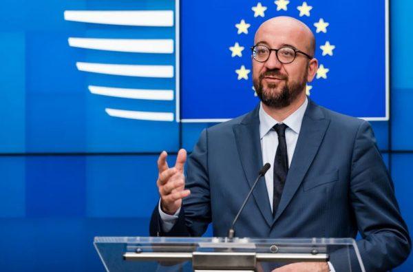 Charles Michel, az Európai Tanács elnöke