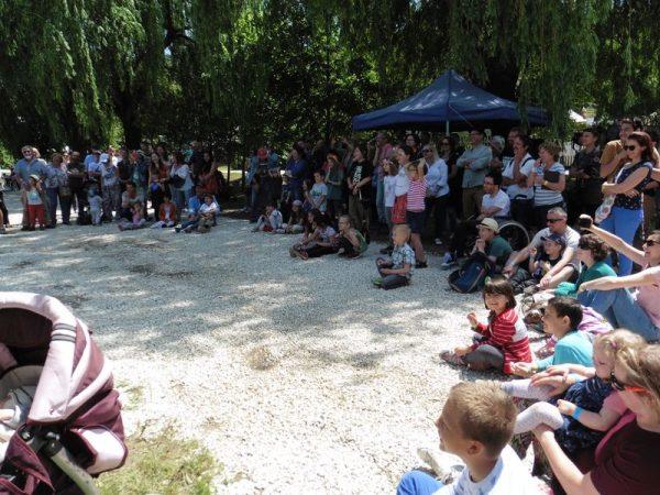Tavalyi pillanatkép a fesztiválról. Fotó: Veszprém Kukac archív