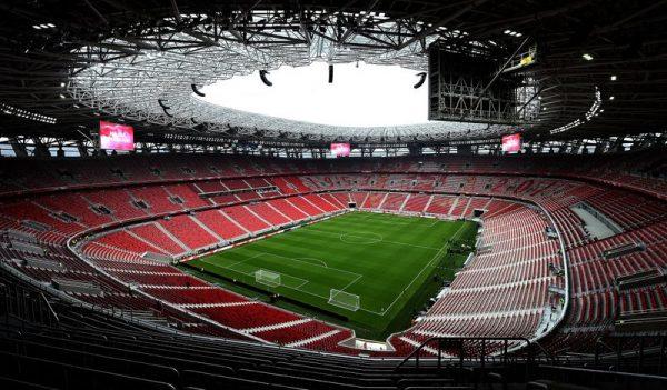 A nagy magyar focikísérlet helyszíne: a Puskás Aréna. Fotó: infostart.hu