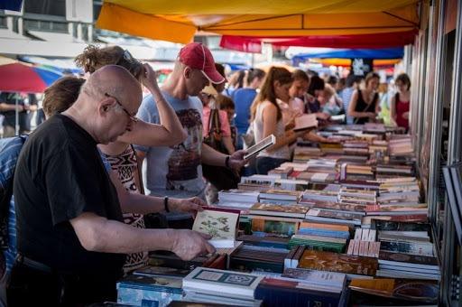 Könyvhét Veszprémben – tavaly. Fotó: Veszprém Kukac archív