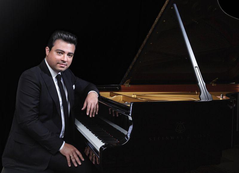 Balázs János zongoraművész. Fotó: Emmer László