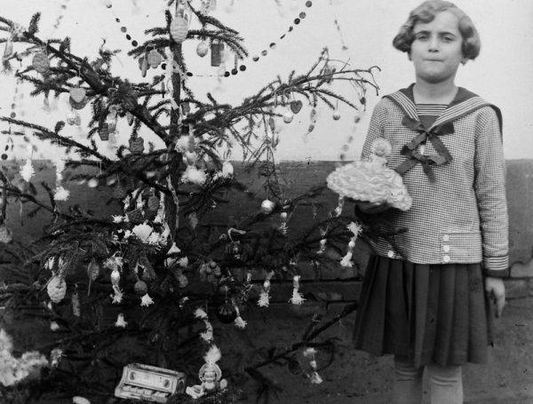 Karácsony 1918-ban. Fotó: Fortepan
