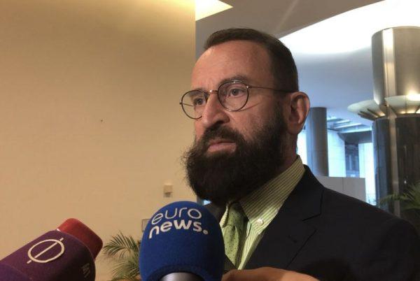 Szájer József. Fotó: Arató László/Magyar Hang