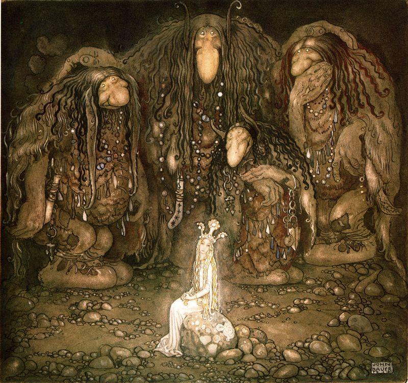 Gnómok és trollok között. John Albert Bauer (1882–1918) svéd festő és illusztrátor trolljai, a svéd tündérmesék szereplői