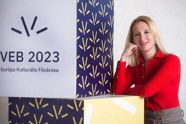 Markovits Alíz, a Veszprém–Balaton 2023 Zrt. vezérigazgatója. Fotók: EKF2023, Veszprémkukac, balatontipp.hu, pannoniareformata.hu
