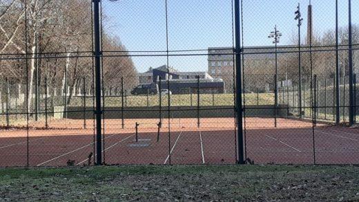 egyetemi teniszpálya